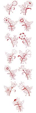 Redwork Machine Embroidery Designs Free Embroidery Free Machine Embroidery Designs Fanciful