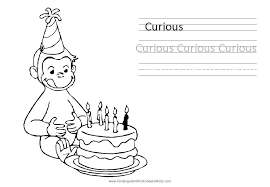 Curious George Coloring Sheet Curious George Coloring Pages Pdf