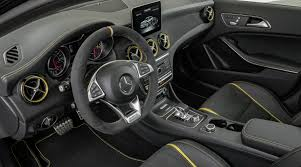 2018 mercedes benz cla class. simple class steering wheel and dashboard of 2018 mercedesbenz amg gla 45 with  performance studio for mercedes benz cla class