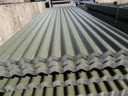 corrugated roof sheets olive green pvc coated metal steel tin roofing cladding