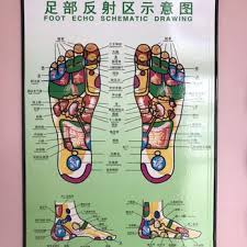 Chart Of Reflexology Points On The Feet Yelp