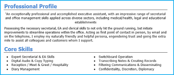 Cv Writing Examples Personal Profile 17 Cv Personal Profile Examples Get Noticed By Recruiters