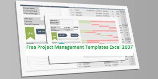 Excel 2007 Templates Free Download Free Project Management Templates Excel 2007 Project Plan