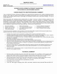 Science Resume Summary Examples Of Summary For Resume New 5 Personal