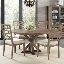 mirabelle wood round dining table in ecru