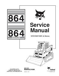 bobcat 864 wiring diagram wiring diagrams best bobcat 864 compact track loader service repair manual s n 516911001 challenger wiring diagram bobcat 864 wiring diagram