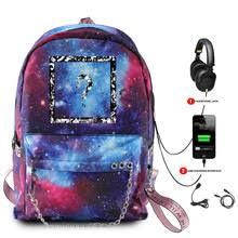 <b>Рюкзак</b> XXXTENTACION Galaxy Space, Модный повседневный ...