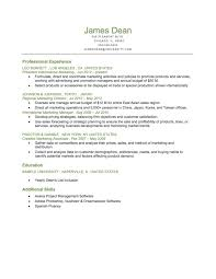Chronological Format Resume Interesting Example Of A Executive Level Reverse Chronological Resume Download