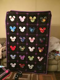80 best Mickey & Minnie Mouse quilt images on Pinterest | Baby ... & Disney Quilts Completely Customizable by TeacherthatQuilts on Etsy Adamdwight.com