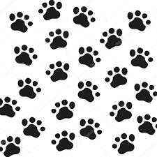 Wild Animal Paw Print Chart Animal Paw Pet Wolf Paw Paw