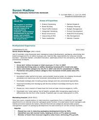 Resume Examples  Sample Resume for Marketing Manager Marketing     Rufoot Resumes  Esay  and Templates     Resume Examples  Marketing Manager Resume Template With Areas Of Expertise In Brand Building And Professional