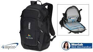 Thule EnRoute Triumph 2 Laptop Backpack - Promotional Products by 4imprint  - YouTube