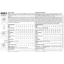 Simplicity Pattern Size Chart Simplicity Pattern Ea455101 Premium Print On Demand Costume