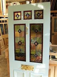 stained glass front door victorin stined glss victorian panels reclaimed