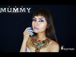 the mummy ahmanet makeup tutorial