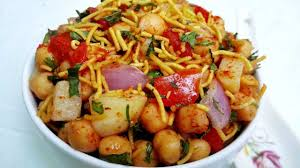 Chana Chat Aloo Chana Chaat Recipe White Chickpeas Chat