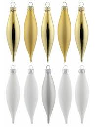 Inge Glas Inge Glas Christbaumschmuck Olivensortiment 10 Teilig Magic Peaceful White Weiß Goldfarben Im Heine Online Shop Kaufen