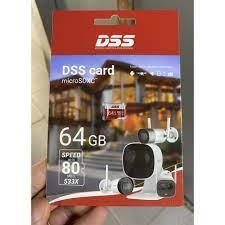 Thẻ nhớ 64GB DSS , Thẻ DSS 64g class 10 chuyên dùng camera