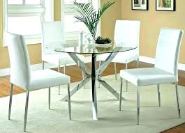 round glass dining table set for 4 glass top dining table set 4 chairs round glass