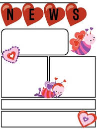february newsletter template freebie editable newsletter template for valentines and february