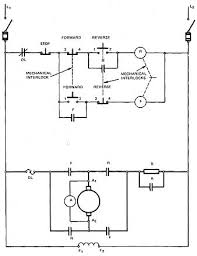 dynamic breaking a dc motor reversal control 2 electrically and mechanically interlocked control and powered circuit for reversing motor