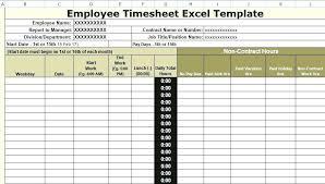 Timesheets Xls Template Xls Timesheet Template