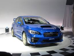 new car releases 20152015 Subaru WRX STI First Look 2014 Detroit Auto Show Video