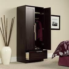 clothes storage cabinet. Brilliant Cabinet Wardrobe Armoire Closet Bedroom Storage Cabinet Clothes Organizer Wood  Furniture  EBay In S
