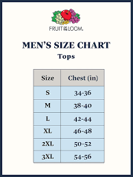 Fruit Of The Loom T Shirt Color Chart Fruit Of The Loom Mens A Shirt Multipack