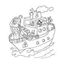Kleurplaat Pakjesboot 12 Malvorlage Boot Renovieren Ausmalbild 5498