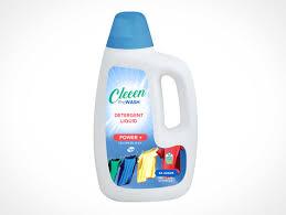 Detergent Powder Packaging Design Psd Detergent Psd Mockups