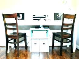 home office desk for two people person furniture19 home