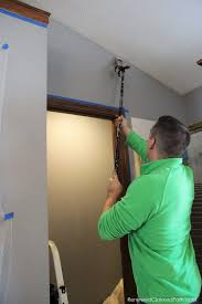for painting a room with a vaulted ceiling