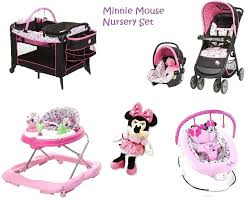 minnie mouse car seat and stroller combo full image for pink baby trend expedition travel system