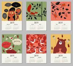 2019 HD Desktop Calendar Wallpaper ...