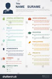 Free Infographic Resume Templates Infographic Resume Template Indesign Cv Word Free Microsoft 87