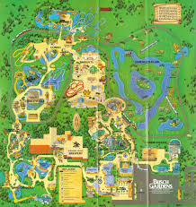 newsplusnotes from the vault busch gardens tampa  map