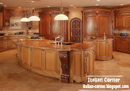 luxury kitchen furniture. Italy Luxury Kitchen Design With Wooden Cabinets Furniture For Kings