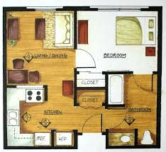 simple floor plans. Simple Bedroom Floor Plan Good 3 Tiny House Plans 4 With Dimensions E
