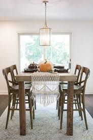 beautiful fall dining room