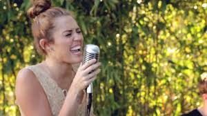 Miley Cyrus  The Backyard Sessions  Jolene Cover  YouTubeBackyard Sessions Jolene