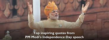 11 Quotes From Pm Modis Independence Day Speech