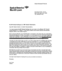Bank Of America Cover Letter Examples Lezincdc Com