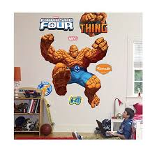 thing jumping life size wall decal with free extras