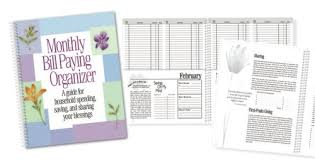 Monthly Bill Organizer Book Amazon Com Monthly Bill Paying Organizer Personal Organizers