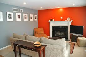 Burnt Orange Living Room Design Grey Orange Living Room Living Room Orange Grey