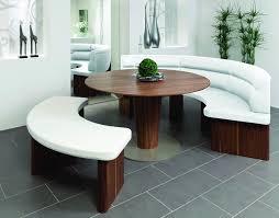 Wössner 220 Elm 302 This Rundbank Dining Table Has A High