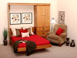 hideaway beds furniture. Bedroom, Hideaway Bed In A Cabinet Features Polished Oak Wood Murphy Built Small Beds Furniture
