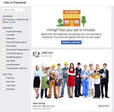 Job Posting Site Facebook Rolls Out Job Posts To Become The Blue Collar Linkedin
