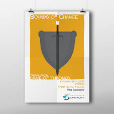 Cpcc Graphic Design Charlotte Symphony Orchestra Sounds Of Change Poster On